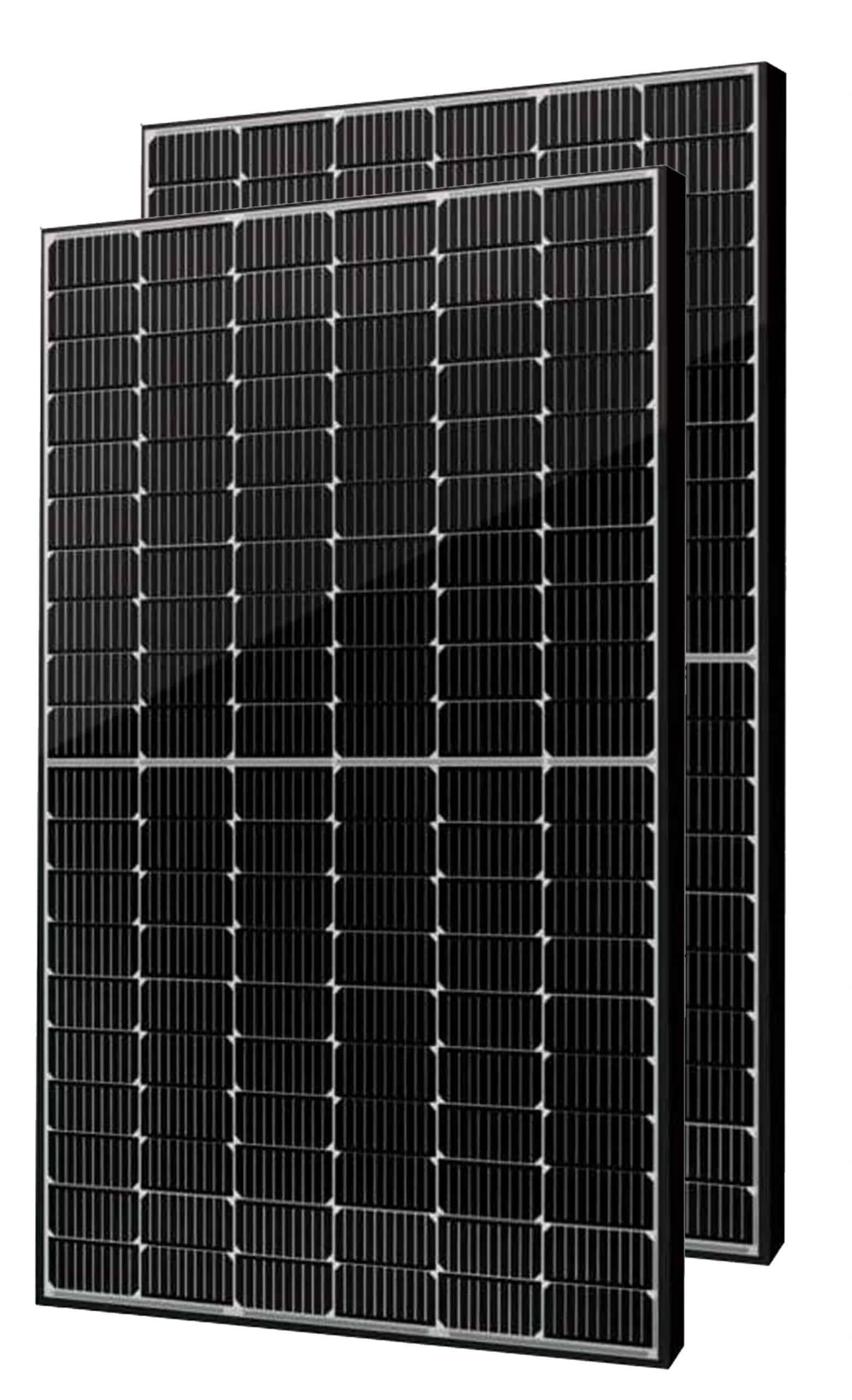 Two Seraphim 370w Solar Panels